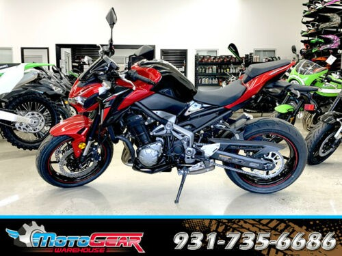 2018 Kawasaki Z900 ABS Red for sale craigslist