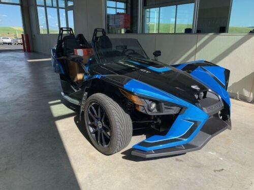 2018 Polaris SLINGSHOT BLACK/ELECTRIC BLUE for sale craigslist
