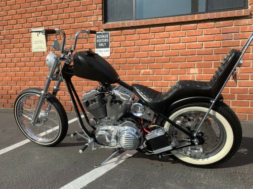 2019 Custom Built Motorcycles Bobber Black and chrome for sale craigslist