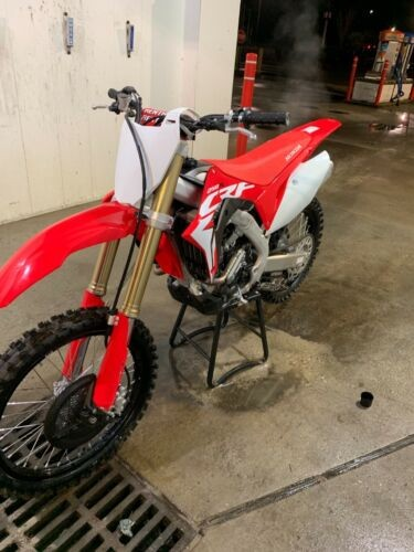 2019 Honda CRF Red for sale craigslist