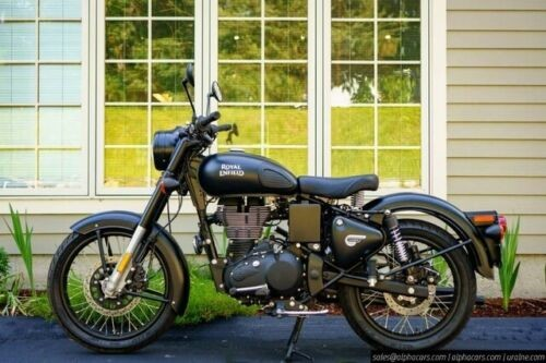 2019 Royal Enfield Classic 500 Black for sale craigslist