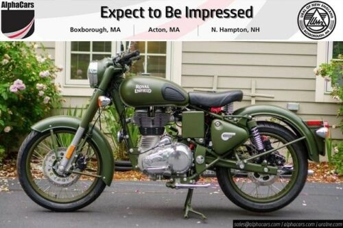 2019 Royal Enfield Classic 500 Green for sale