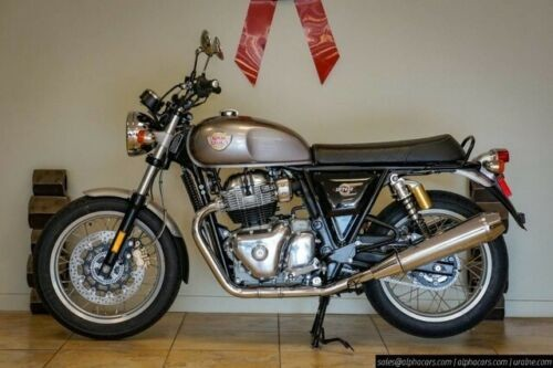 2019 Royal Enfield Interceptor 650 Twin Silver for sale