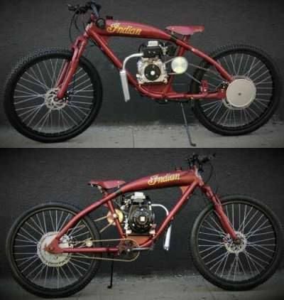 1914 Indian boardtrack Racer/Cruiser ANTIQUE INDIAN RED for sale