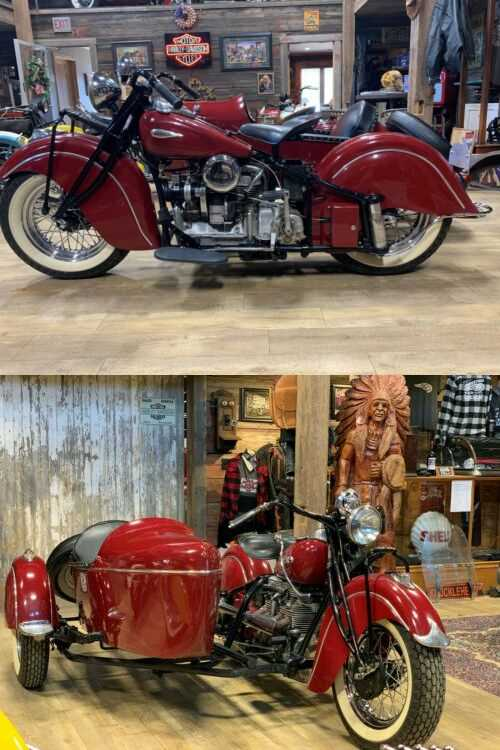 1941 Indian 441 Red for sale