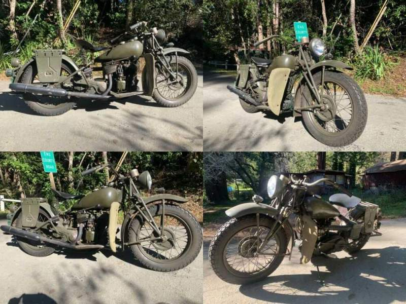 1941 Indian 741 Green for sale