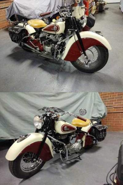 1946 Indian Chief Red and White for sale craigslist