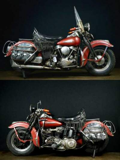 1948 Harley-Davidson FL Panhead Red for sale craigslist