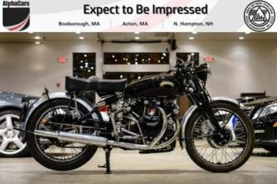 1952 Vincent Black Shadow C Series Black for sale craigslist