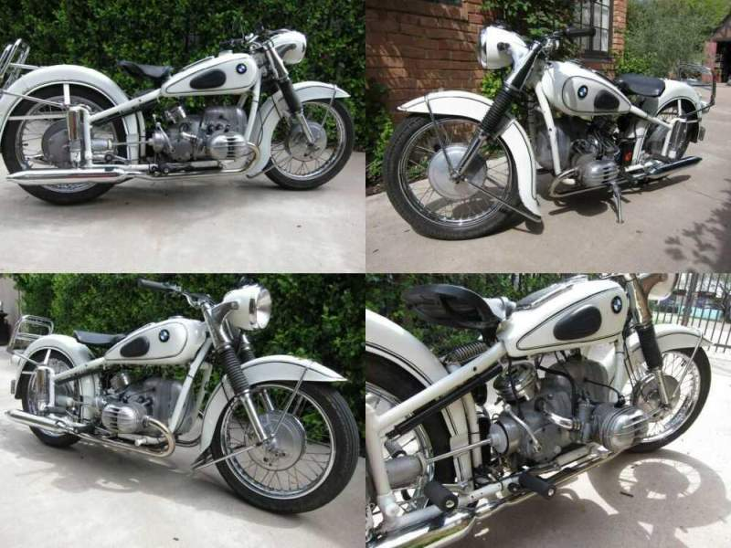 1954 BMW R-Series White for sale