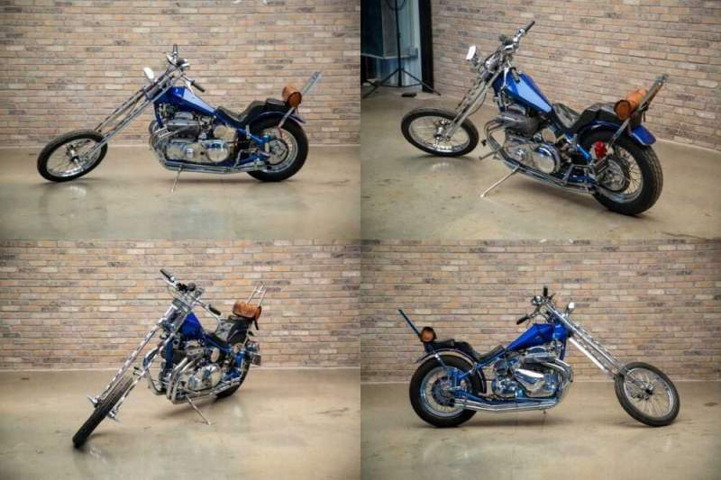 1957 Other Makes Square Four Chopper Blue for sale craigslist