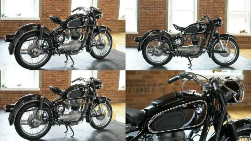 1959 BMW R-Series Black for sale