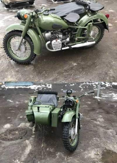 1959 Ural м72 Green for sale