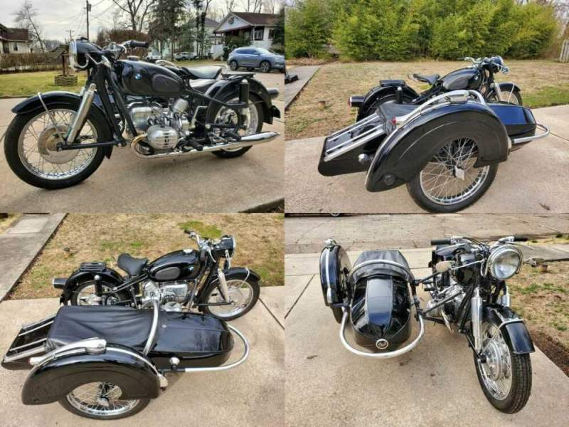 1960 BMW R-Series Black for sale craigslist