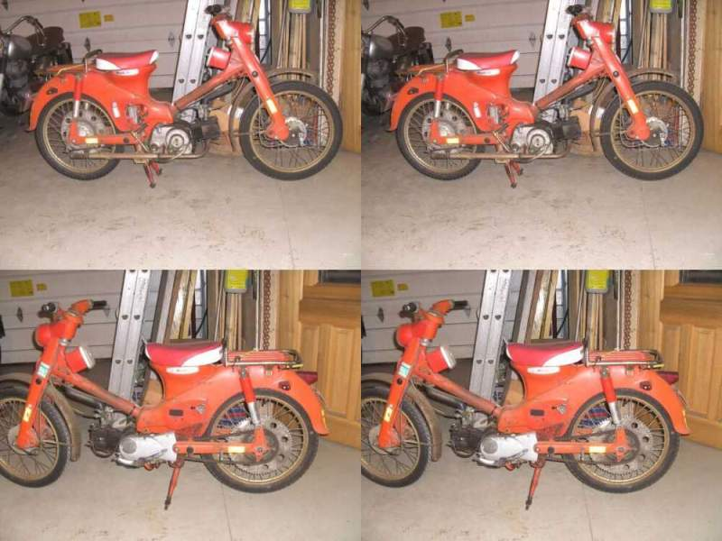 1961 Honda C100T Red for sale