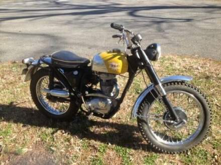 1966 BSA Victor 441 Yellow for sale
