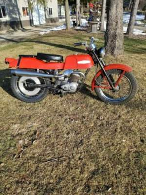 1966 Harley-Davidson Bobcat Red for sale
