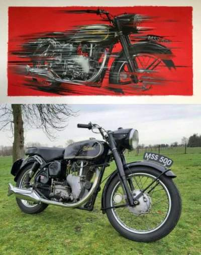 1967 Other Makes VELOCETTE MSS500, FREE SHIPPING BLACK for sale
