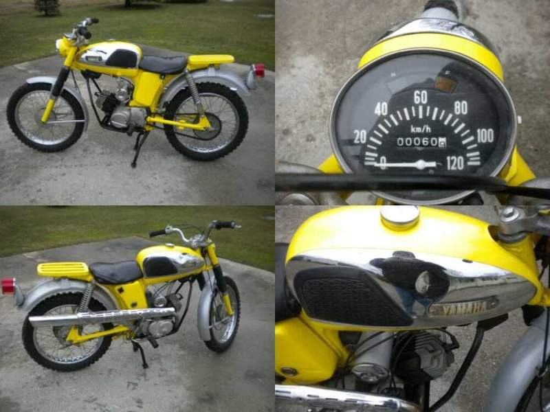 1967 Yamaha YL-2 Yellow for sale craigslist