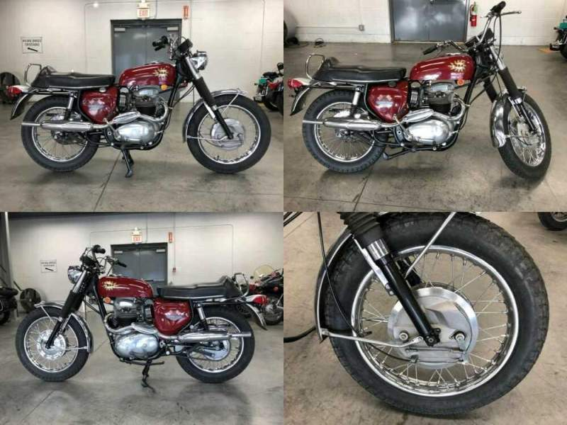 1968 BSA Firebird Scrambler Red for sale
