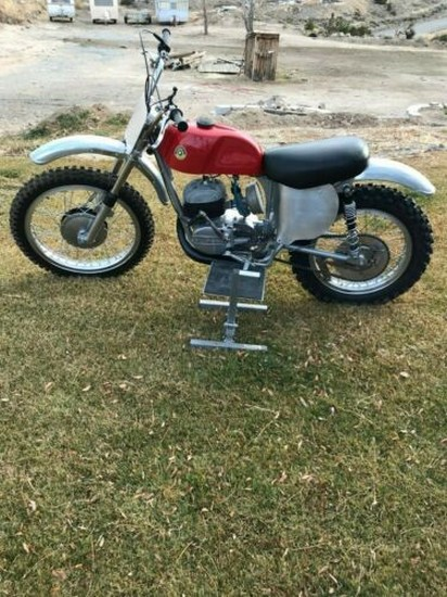 1968 Bultaco Sherpa S Red for sale