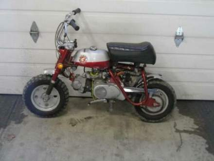 1968 Honda Z50A Mini Trail Red for sale craigslist