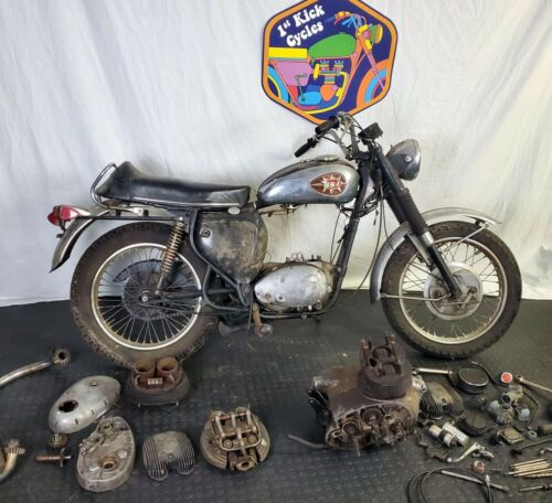 1969 BSA A65T THUNDERBOLT A65 650 BARN FIND! Black for sale craigslist