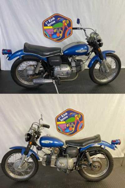 1969 Harley-Davidson Sprint SS 350 SS 250 SS350 SS250 Blue / Silver for sale craigslist