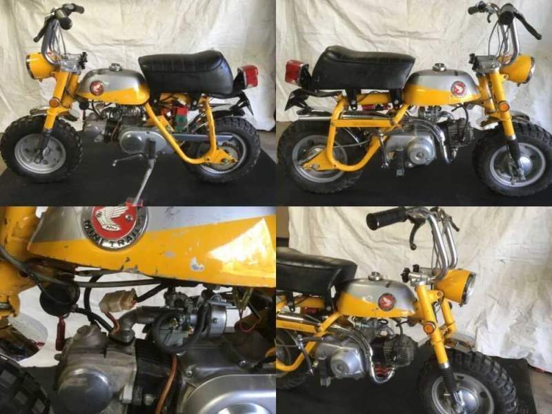 1969 Honda Z50 Yellow for sale