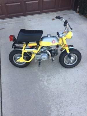 1969 Honda Z50 Mini Trail Yellow for sale
