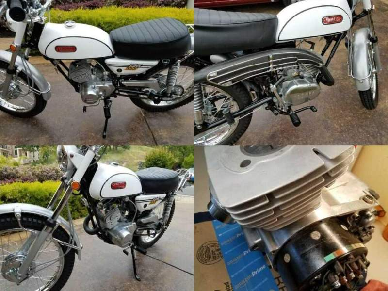 1969 Yamaha Enduro White for sale