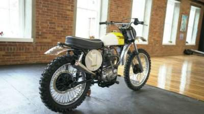 1970 BSA B44 Victor 441 Special Racing Yellow/ White for sale