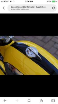 1970 Ducati Other Yellow/black for sale