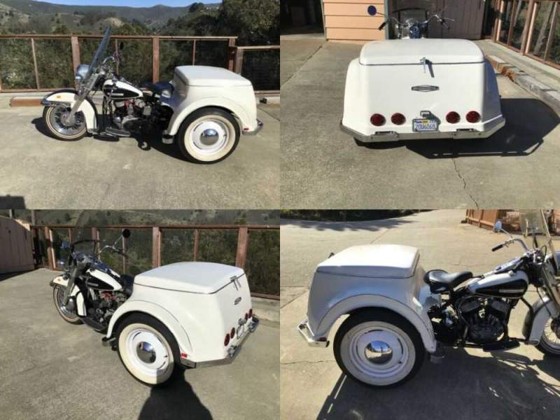 1970 Harley-Davidson SERVI-CAR WHITE for sale craigslist