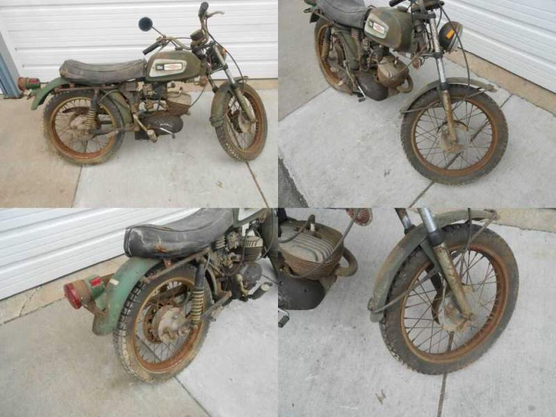 1971 Harley-Davidson 125 Rapido Green for sale craigslist
