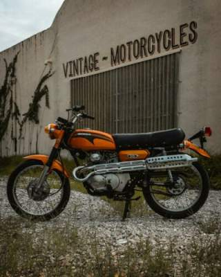 1971 Honda CL175 Orange for sale