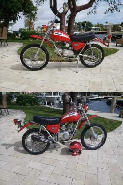 1971 Honda SL70 Red for sale