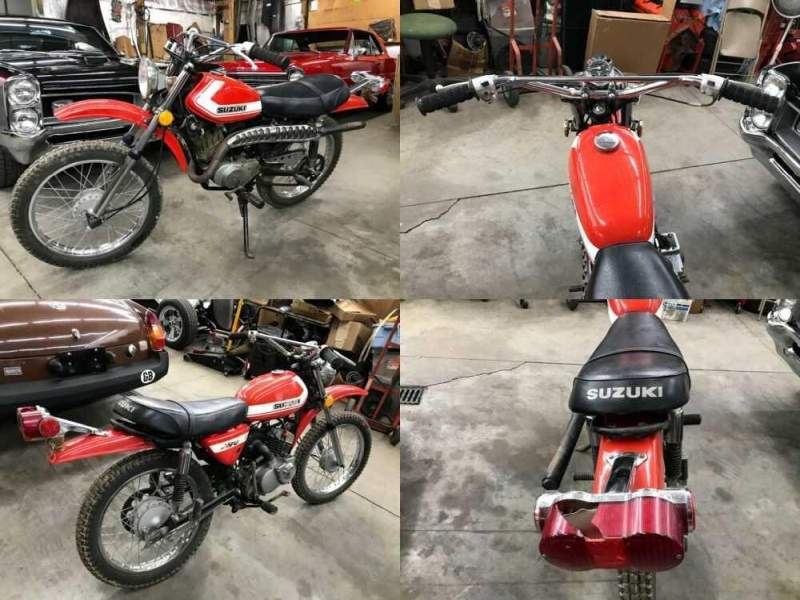 1971 Suzuki TS90 Orange for sale