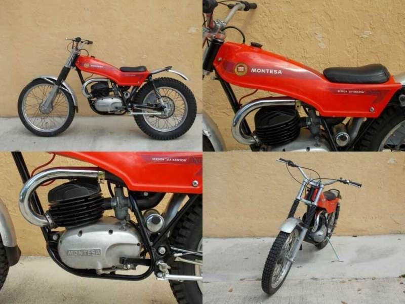 1972 Other Makes MONTESA COTA 247 ULF KARLSON REPLICA Red for sale craigslist