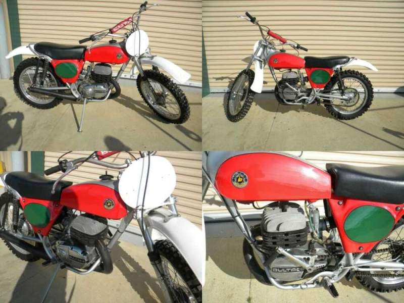 1973 Bultaco Pursang 250 red/silver for sale craigslist