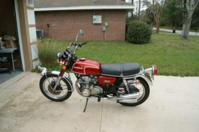1973 Honda CB350F Flake Matador Red for sale craigslist