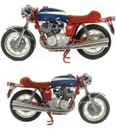 1973 MV Agusta 750 S Red for sale craigslist