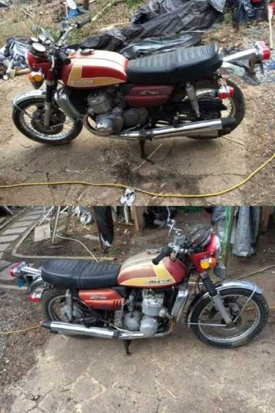 1973 Suzuki GT 750 Red for sale
