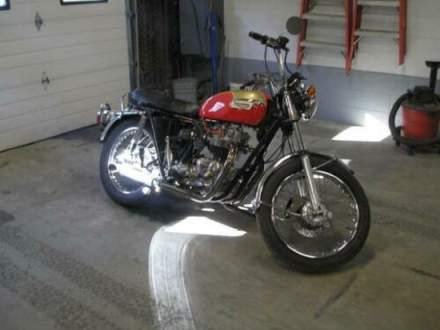 1973 Triumph Bonneville Red for sale craigslist