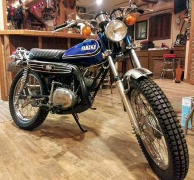 1973 Yamaha Enduro Blue for sale craigslist