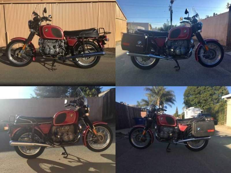 1974 BMW R-Series Red for sale