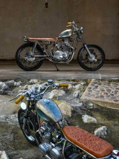 1975 Kawasaki KZ400 Clearcoat bare metal for sale craigslist