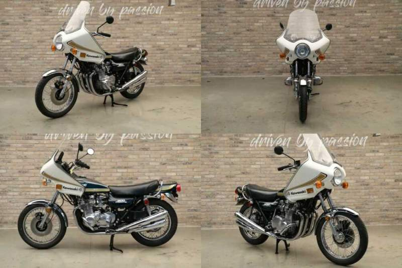 1975 Kawasaki Z1 900 Green for sale