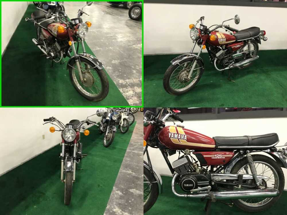 1975 Yamaha DT125 ENDURO Red for sale