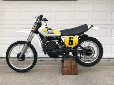1975 Yamaha MX 400 White for sale